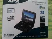 Портативный DVD плеер с тюнером DVB-T2 XPX EA-7099D