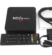 Андроид ТВ приставка MXQ Pro 4K установлены 500-600 тв каналов